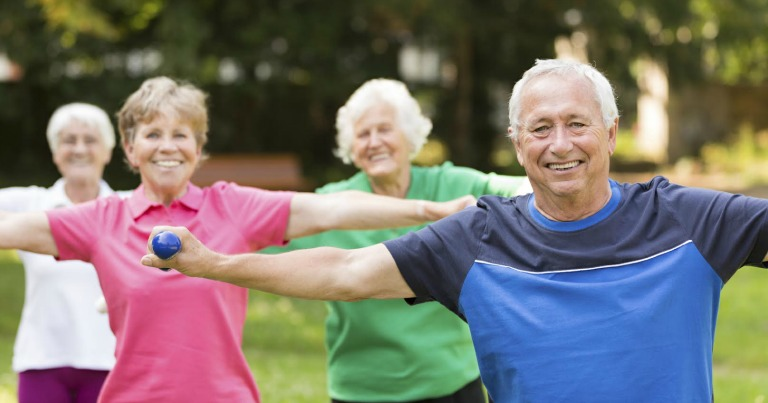 Exercising will help symptoms of Arthritis