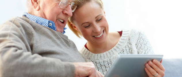 Helping Seniors with Technology