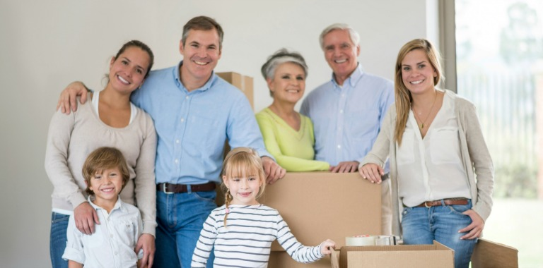 elderly loved one moves in