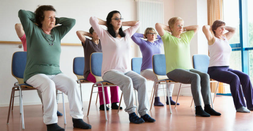 Chair Yoga for Those Who Suffer From Arthritis