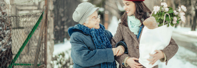 How To Help Seniors Cope With Cooler Weather