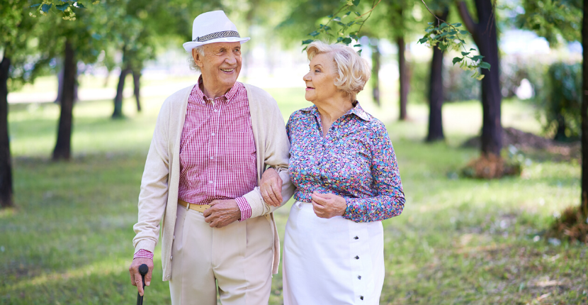Walking Daily can help everyone including seniors. It improves cardiovascular health, joint health, muscle health, and more!