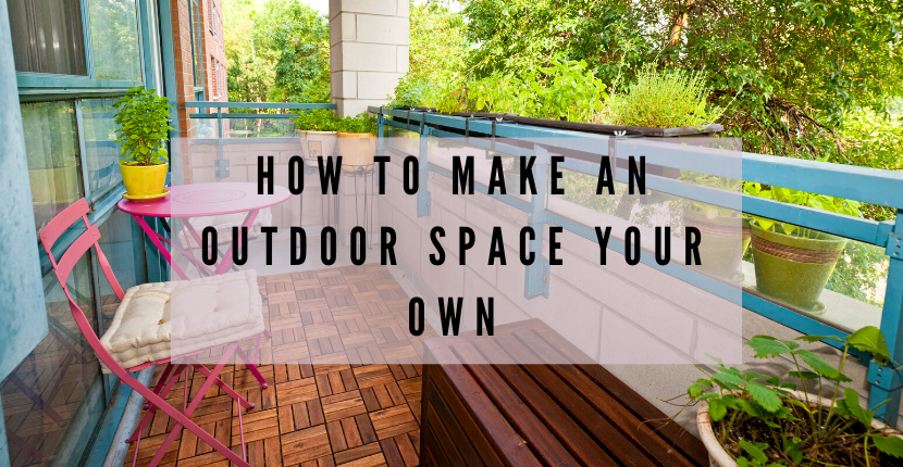 Learn how to make your outdoor space feel cozy and comfortable.