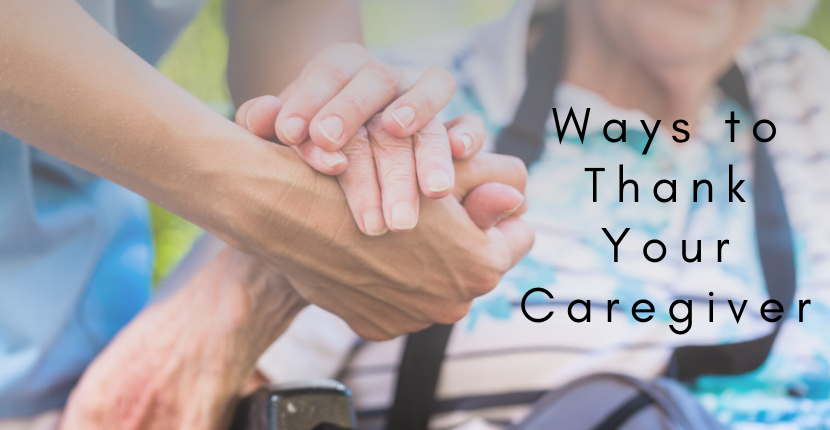 ways thank your caregiver