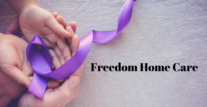 Freedom Home Care Helps Raise Awareness Of Alzheimer's Disease Offering Support To Family And Loved Ones
