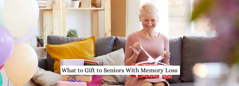 Gifts for Seniors with Memory Loss