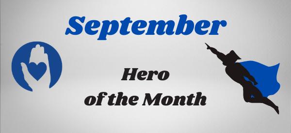 September Hero of the Month